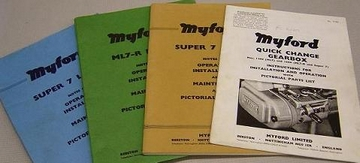 Myford Manuals