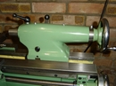Myfod Super 7 tailstock